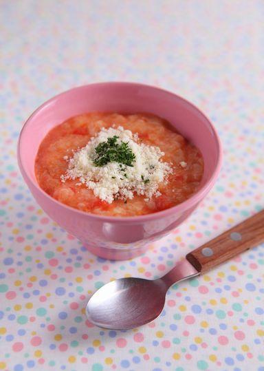 濃厚♪チーズトマト粥 のレシピ・...