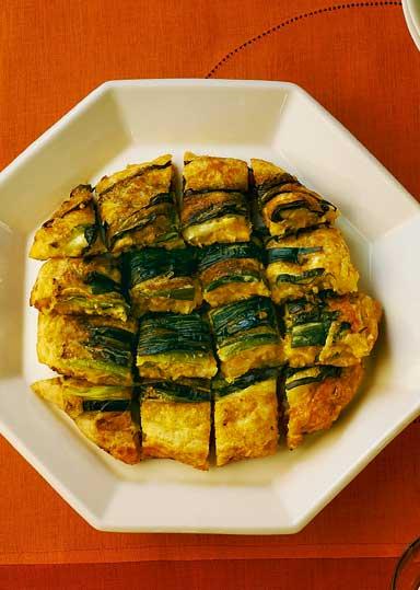 キムチ納豆チヂミ