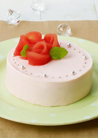 苺のヨーグルトムースケーキ のレシピ・作り方 │ABCクッキングスタジオのレシピ