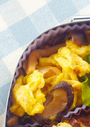 とじ きのこ 卵