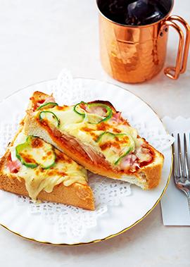 ピザ トースト 人気 レシピ