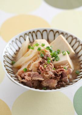 はちみつ肉豆腐