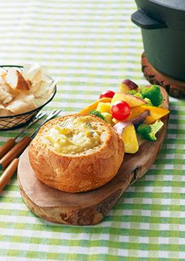 チーズ フォンデュ の 材料