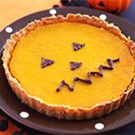ハロウィンかぼちゃのパンプキンパイ