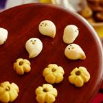 かぼちゃとおばけの立体クッキー