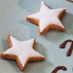 星のジンジャークッキー