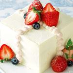 ギフトボックスケーキ