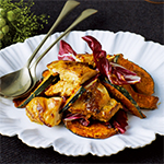 鶏肉とかぼちゃのハニーマスタード風味