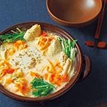 とろとろ豆腐の豆乳コラーゲン鍋