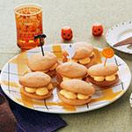 かぼちゃクリームサンドケーキ
